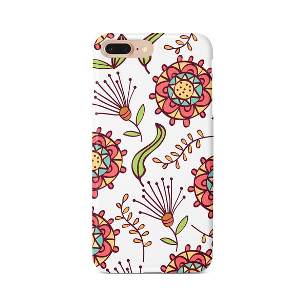 iPhone 7-8 PLUS Ethnic Floral Pattern Phone Case | FeelHeal.me