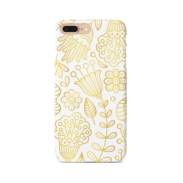 iPhone 7-8 PLUS Ethnic Gold Pattern Phone Case | FeelHeal.me