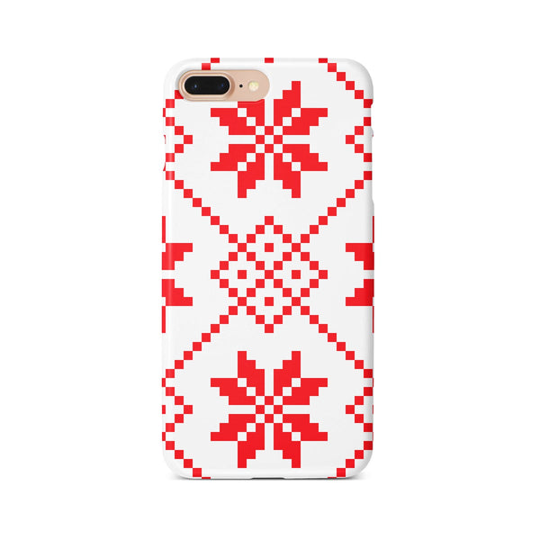 iPhone 7-8 PLUS Ethnic Knit Pattern Phone Case | FeelHeal.me