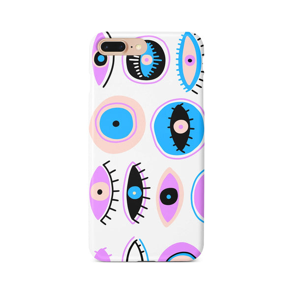 iPhone 7-8 PLUS Abstract Ethnic Color Eye Pattern Phone Case | FeelHeal.me