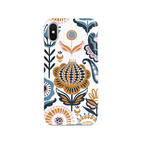 iPhone X Ethnic Floral Pattern Phone Case | FeelHeal.me