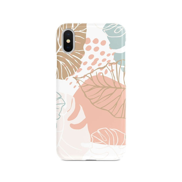 iPhone Xs Max Ethnic Drawings Line Pattern Phone Case | FeelHeal.me