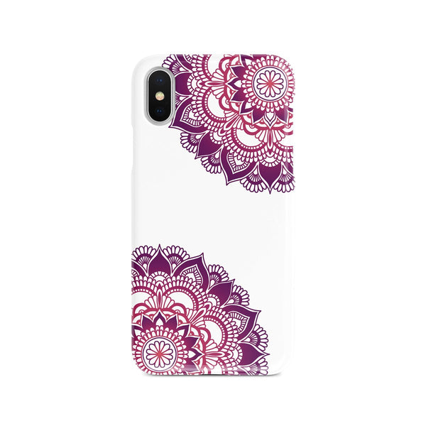 iPhone X Ethnic Corner Pattern Phone Case | FeelHeal.me