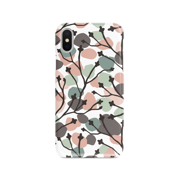 iPhone X Colorful Speckle Ethnic Pattern Phone Case | FeelHeal.me