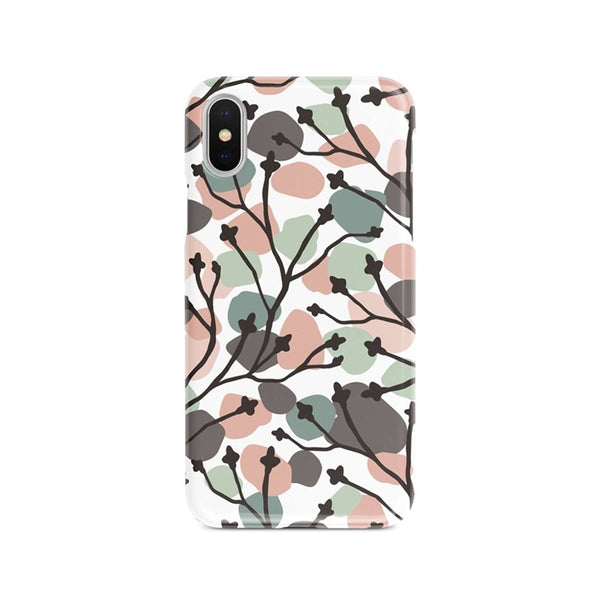 iPhone Xs Max Colorful Speckle Ethnic Pattern Phone Case | FeelHeal.me
