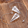 Crystal Quartz Pendulum | FeelHeal.me