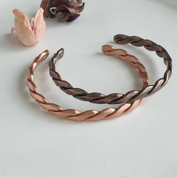 Special Knitted Copper Bracelet | FeelHeal.me