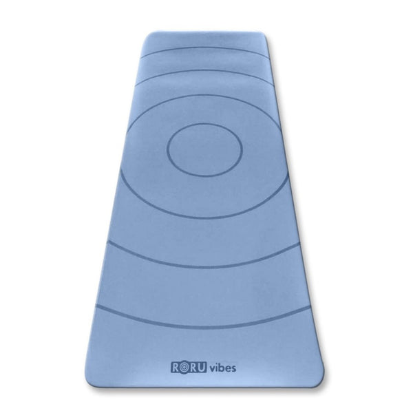 Sun Series Vibes Blue Yoga Mat | FeelHeal.me