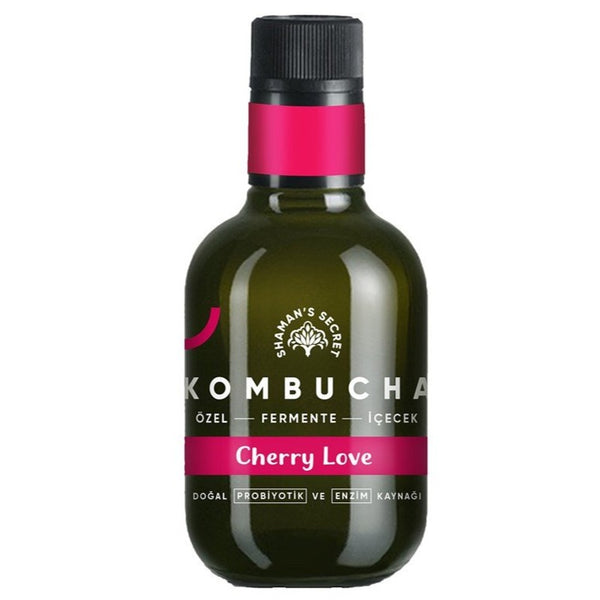 Cherry Love Kombucha- 250ml | FeelHeal.me