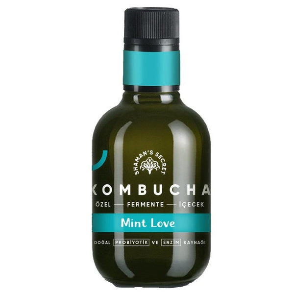 Mint Love Kombucha- 250ml | FeelHeal.me