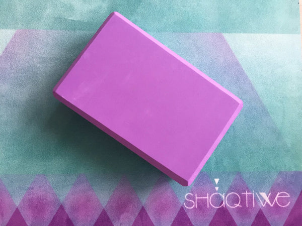 Yoga Block- Purple | FeelHeal.me