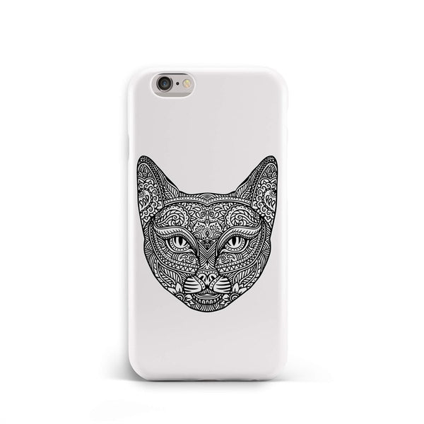 iPhone 6-6s Ethnic Striped Cat Phone Case | FeelHeal.me