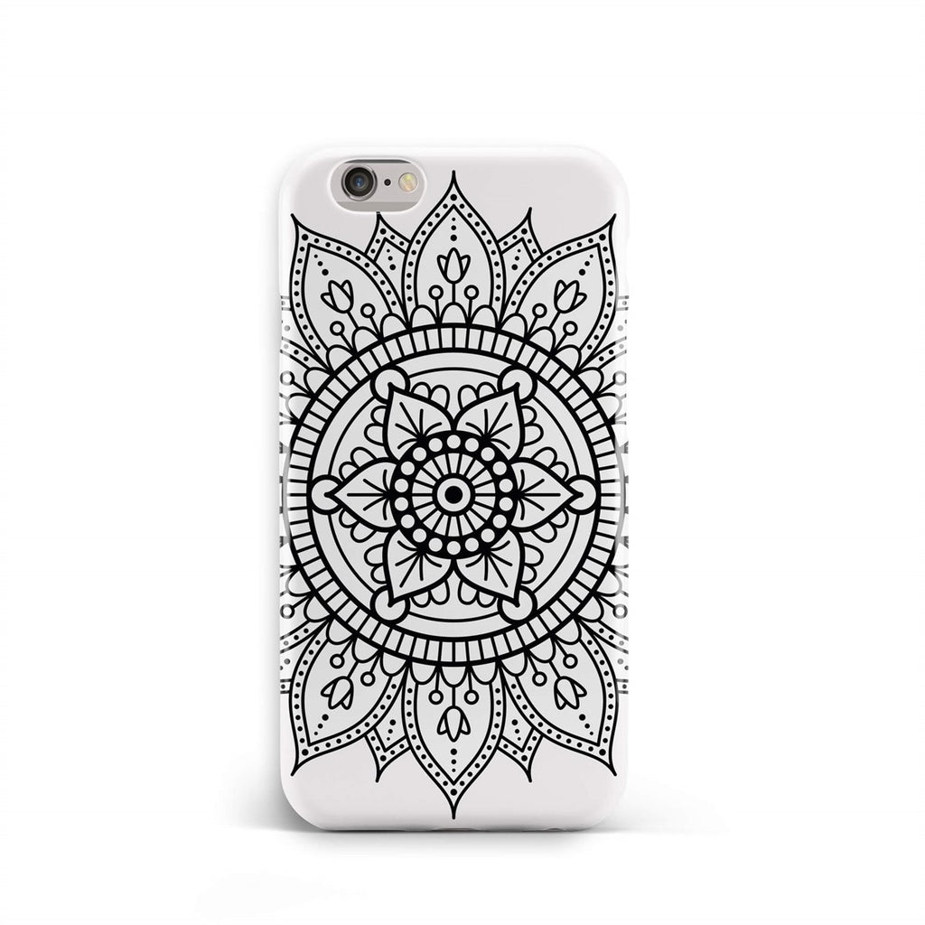 iPhone 6-6s Mandala Line Pattern Phone Case | FeelHeal.me