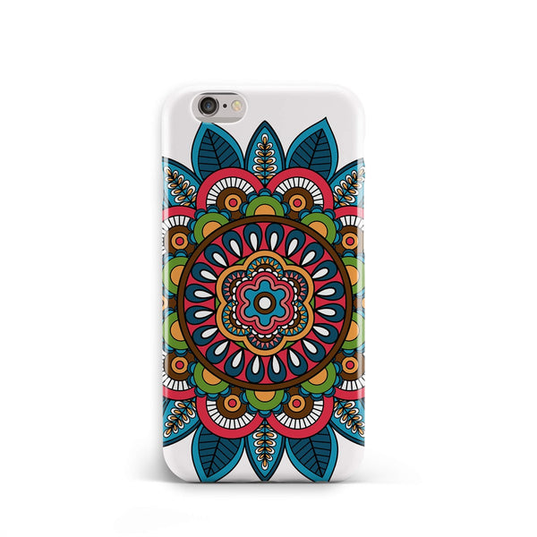 iPhone 6-6s Ethnic Mandala Blue Pattern Phone Case | FeelHeal.me