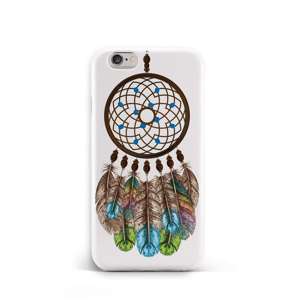 iPhone 6-6s Ethnic Mandala Ringed Feathers Phone Case | FeelHeal.me