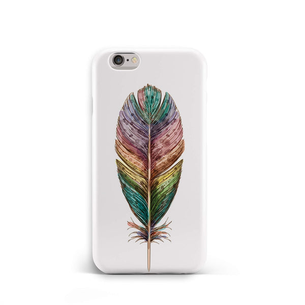iPhone 6-6s Ethnic Color Feather Pattern Phone Case | FeelHeal.me
