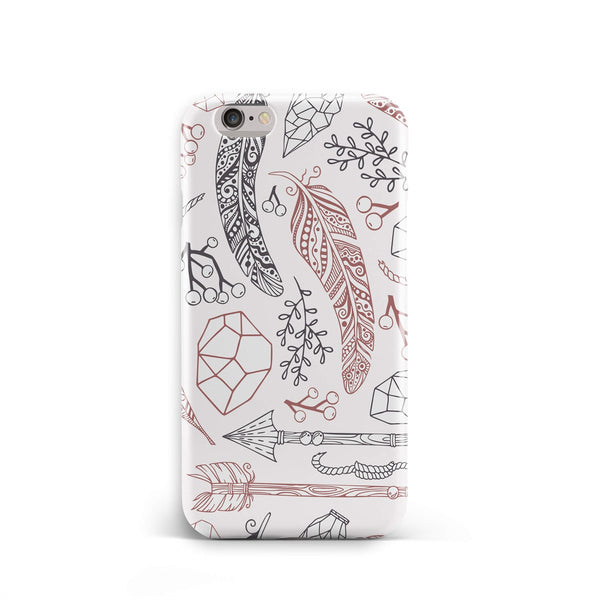 iPhone 6-6s Ethnic Line Leaves Phone Case | FeelHeal.me