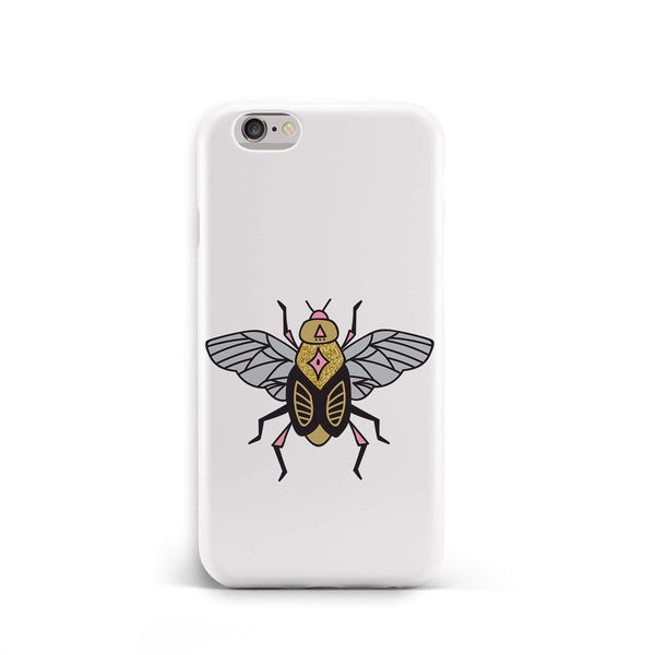 iPhone 6-6s Gold Ethnic Insect Pattern Phone Case | FeelHeal.me
