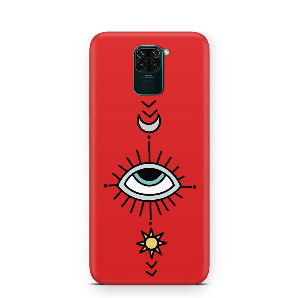 Xiaomi Note 9 Ethnic Eye Compass Design Case | FeelHeal.me