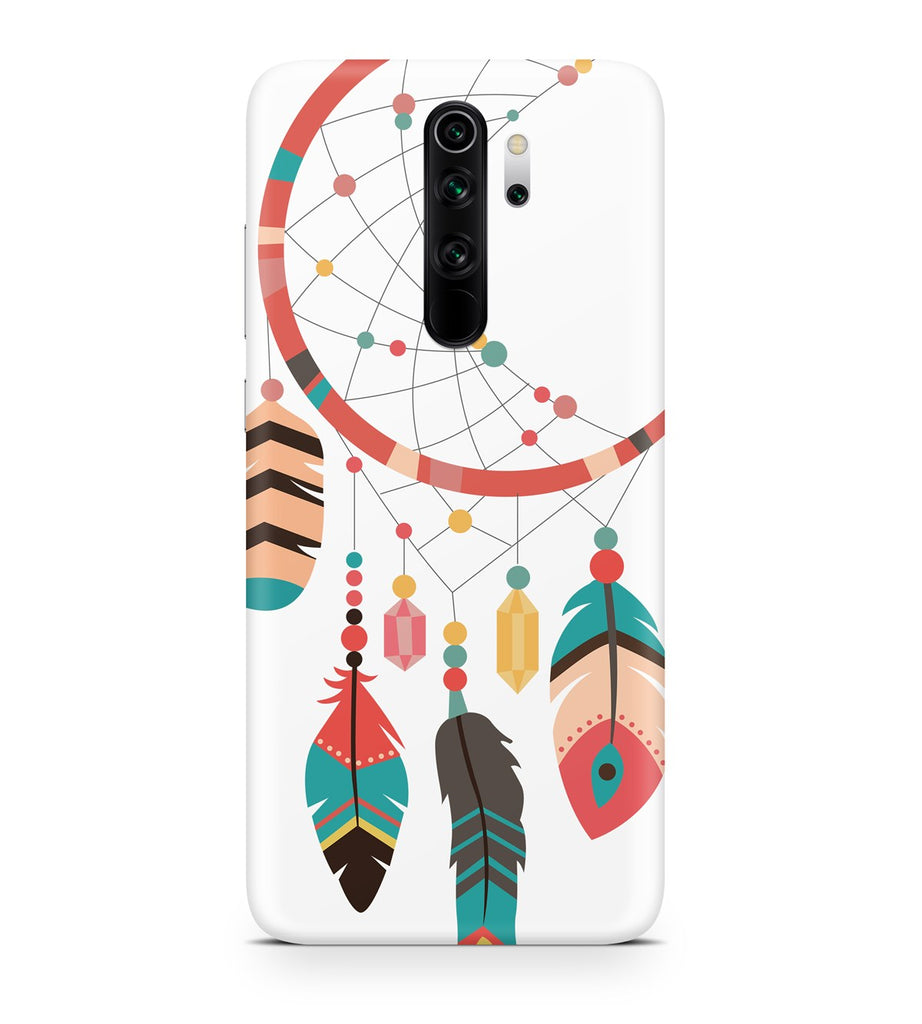 Xiaomi Redmi Note 8 Pro Ethnic Ring Pattern Case | FeelHeal.me