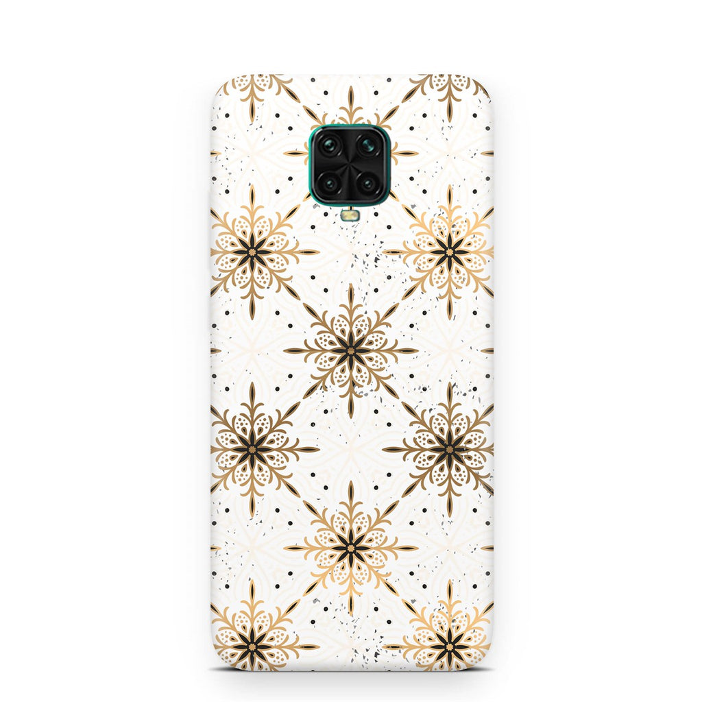Xiaomi Redmi Note 9s-9Pro Ethnic Mandala Gold Phone Case | FeelHeal.me