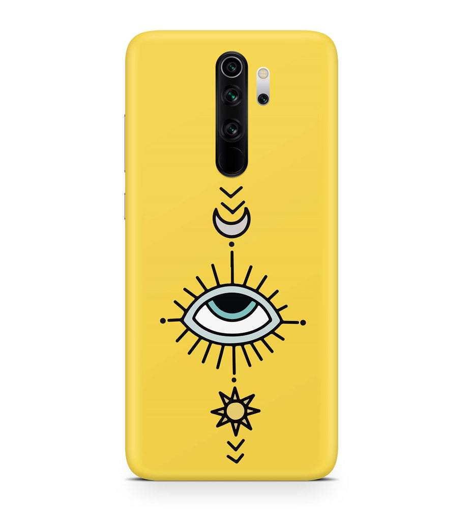 Xioami Note 8 Pro Ethnic Eye Compass Design Case | FeelHeal.me