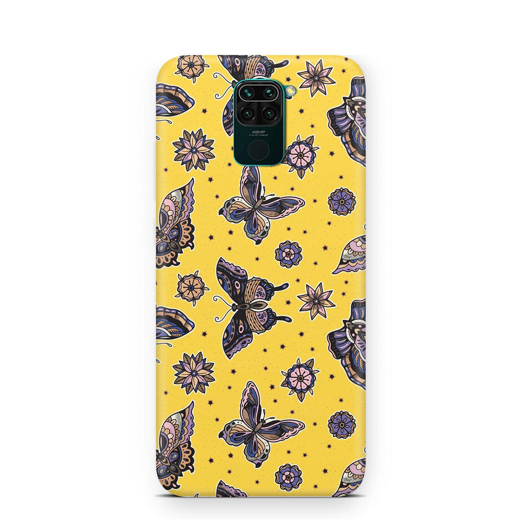 Xioami Note 9 Ethnic Butterfly Pattern Case | FeelHeal.me