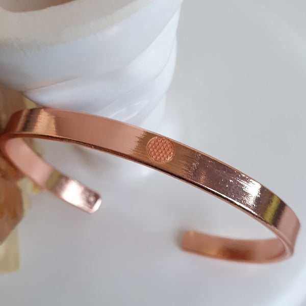 Flower of Life Copper Bracelet | FeelHeal.me