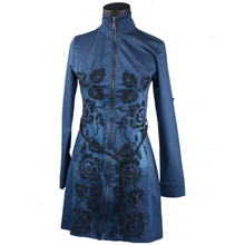 Load image into Gallery viewer, Cotton Zip-front Dress