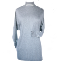 Load image into Gallery viewer, 3/4 Sleeve Turtleneck Tunic