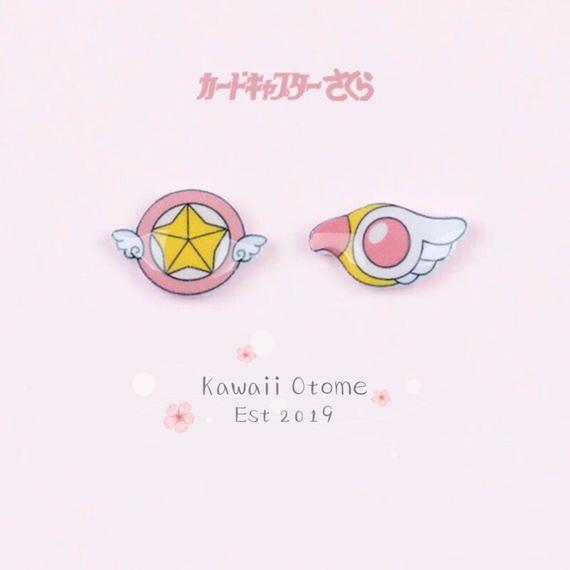 Kawaii Card Captor Sakura Earring Studs