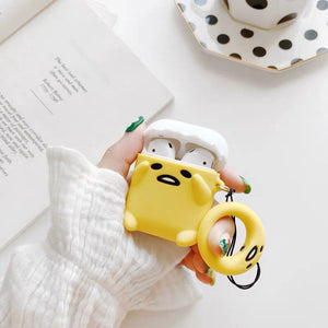 Cute Gudetama Airpods and Airpod Pro Case