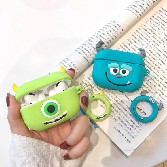 Monster Inc Airpod Pro Case Mike and Sulley