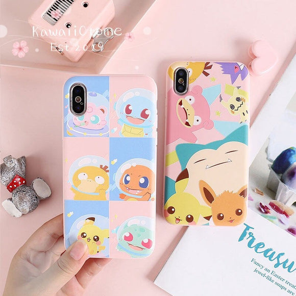 Kawaii Chibi Pokemon iPhone Cover