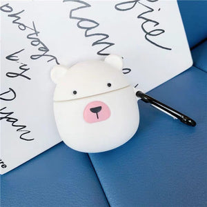 Cute Polar Bear Airpod Case