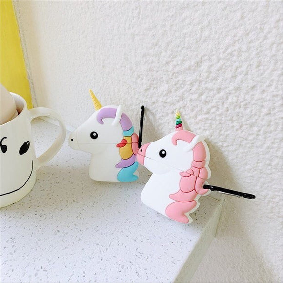 Rainbow Pastel Unicorn Airpod Case