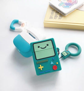 Cute Adventure Time Airpod Case BMO and Finn