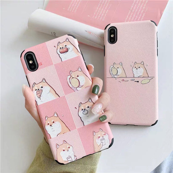 Cute Shiba Inu Puppy Dog iPhone Cover