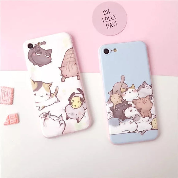 Cute Kitty Cats iPhone Case