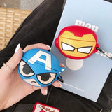 Chibi Avengers Airpods Pro Case - Ironman, Spiderman, Captain America