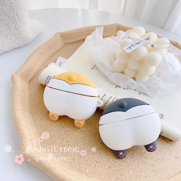 Cute Corgi Butt Airpods and Airpod Pro Case