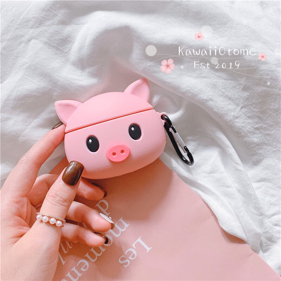 Kawaii Baby Pig Airpods and Airpods Pro Case