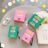 Pocky Airpods and Airpods Pro Case - Strawberry and Matcha