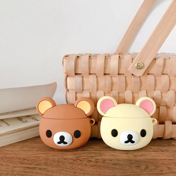 Rilakkuma Kawaii Bear AirPods Case
