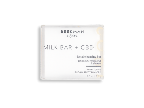 Milk Bar + CBD Facial Cleansing Bar