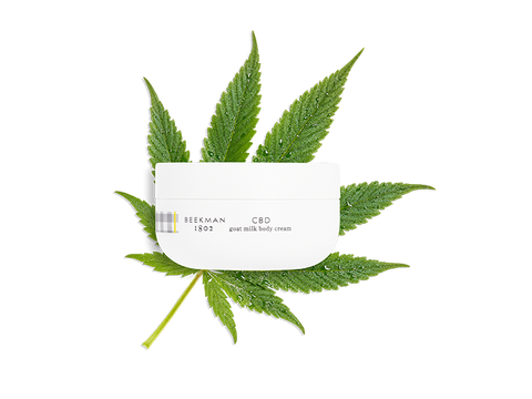 CBD Goat Milk Body Cream