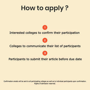 Inter-College Ayurveda Youth Journalism Contest 2020/21