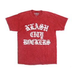 KLASH CITY ROCKERS - ACID WASH RED