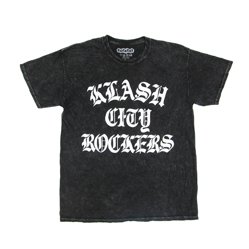 KLASH CITY ROCKERS - ACID WASH BLACK