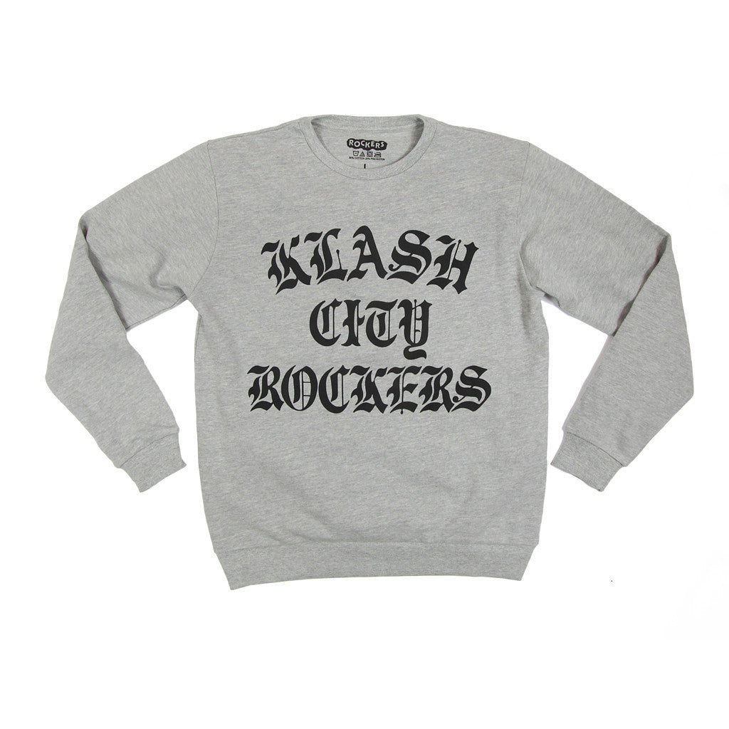 KLASH CITY ROCKERS SWEATSHIRT - GREY